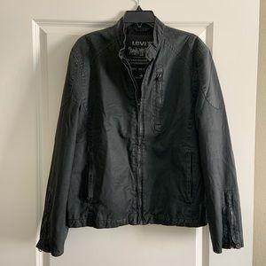 Levi The Two Horse Brand Dark Grey Jacket Medium